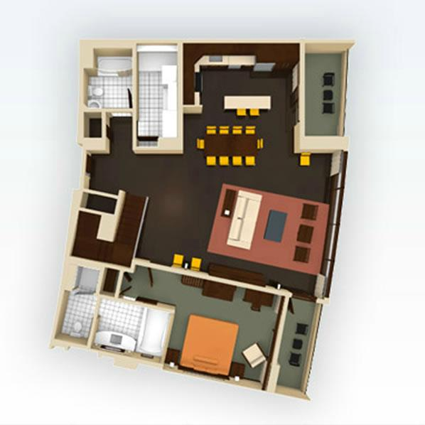 bay-lake-tower grandvilla-floor-1 layout