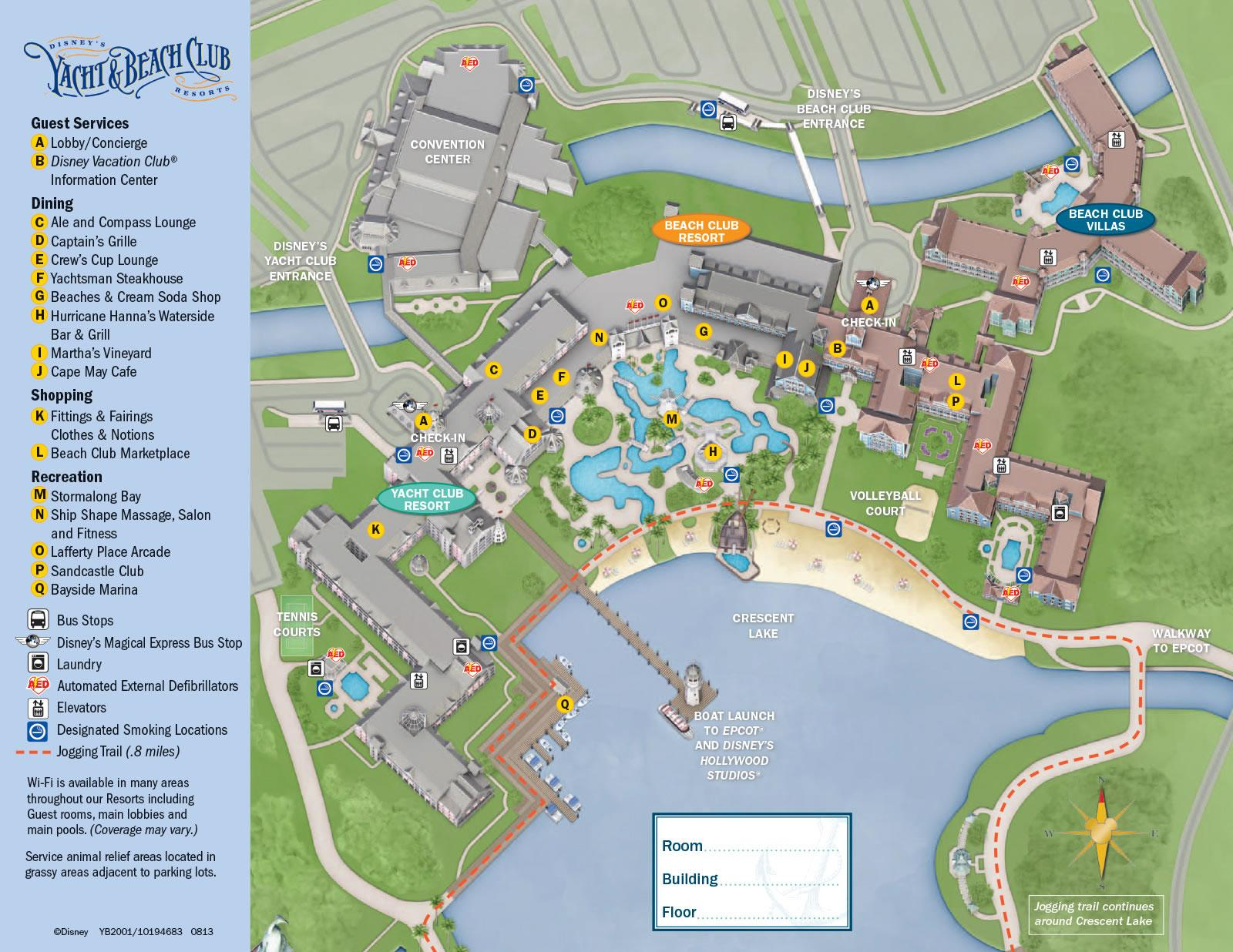 Disneys-Beach-Club-Villas-Resort-Map
