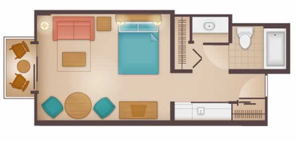 beach-club-villas studio layout