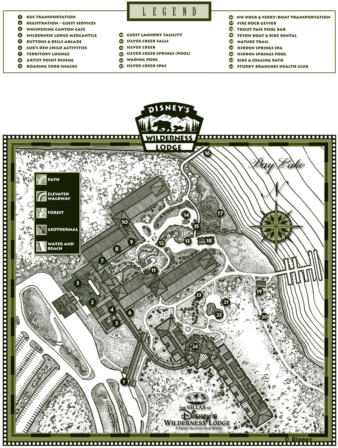 boulder ridge resort map1