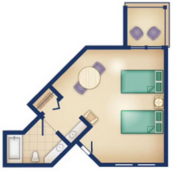 old-key-west-resort studio layout